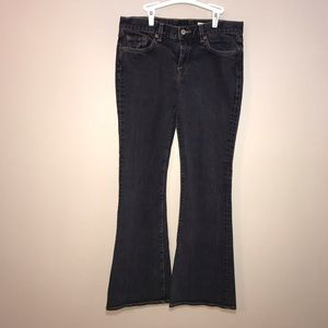 Lucky Brand Sweet N Low Jeans. Faded black size 6